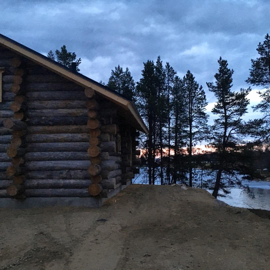 Cabin wilderness inari No Credit