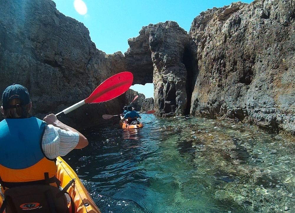 Gozo sea kayak