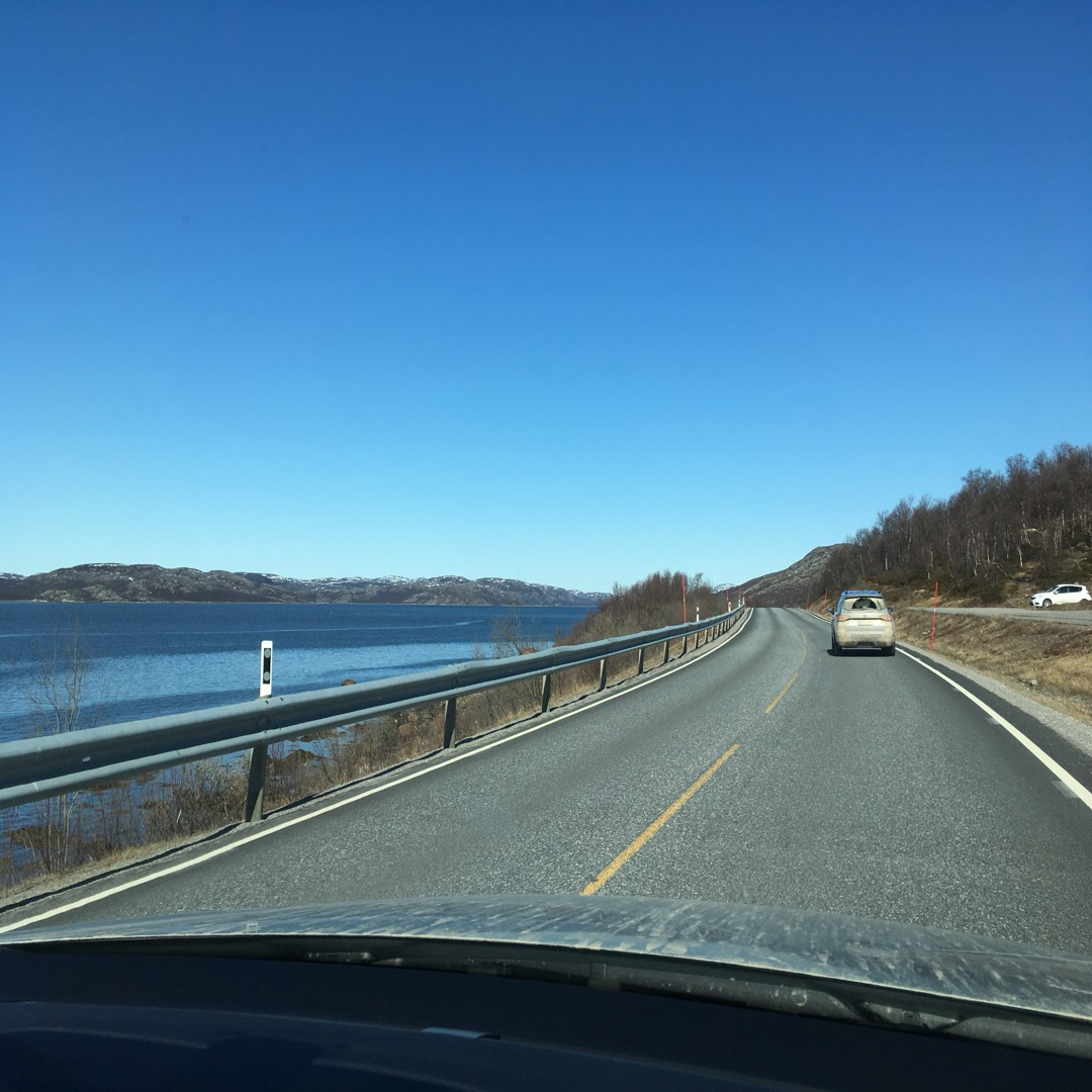 driving into Kirkenes No Credit