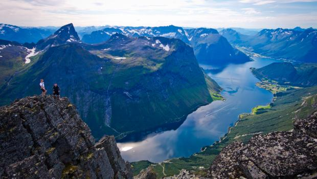 Dramatic Fjords and Ocean Islands