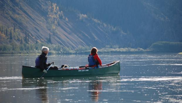 Canoe Adventure on the Mighty Yukon River