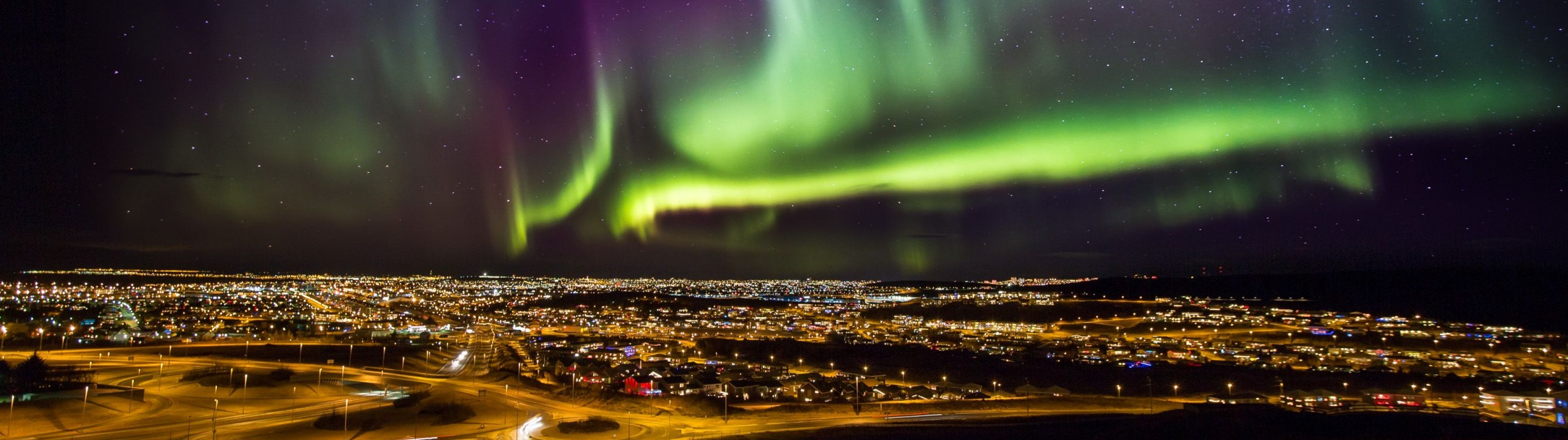 Reykjavik Northern Lights Credit Visit Iceland